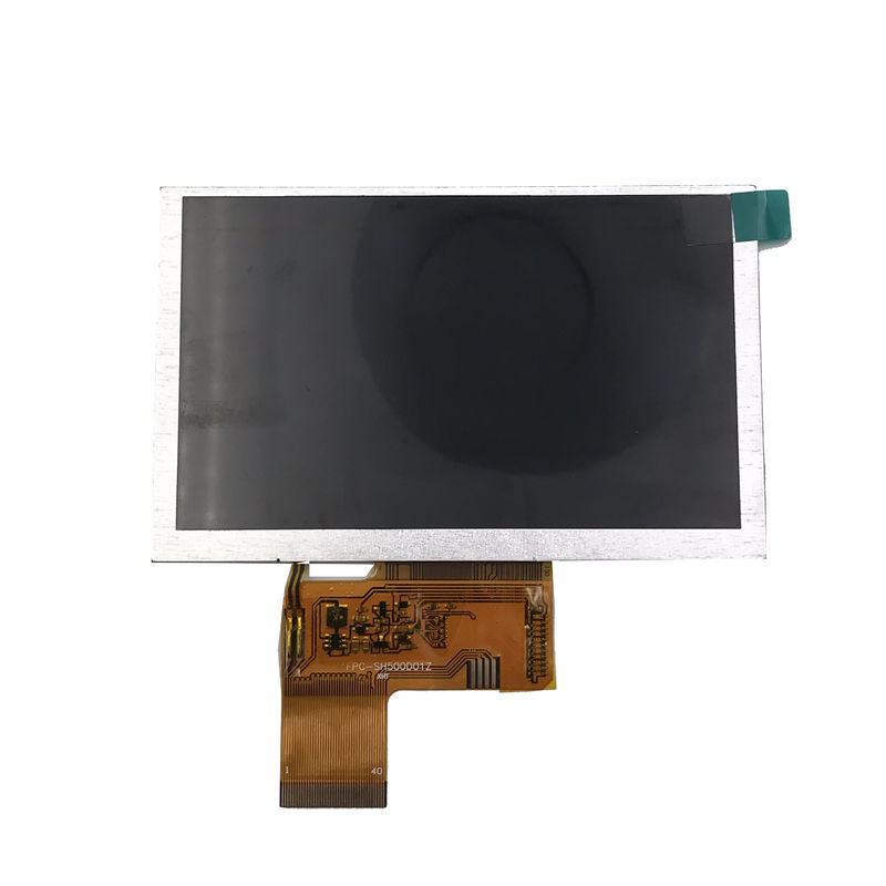 Lead Free 5 Inch Color Lcd Display Module TFT 800*480 Built - In Backlight