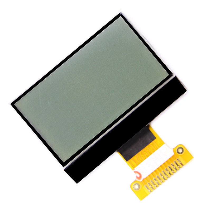 12864 waterproofed custom monochrome lcd display for pos machine